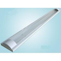 LED TL armatuur softline opaal 60cm - 2 buis