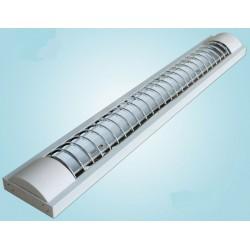LED TL armatuur softline grill 60cm - 2 buis