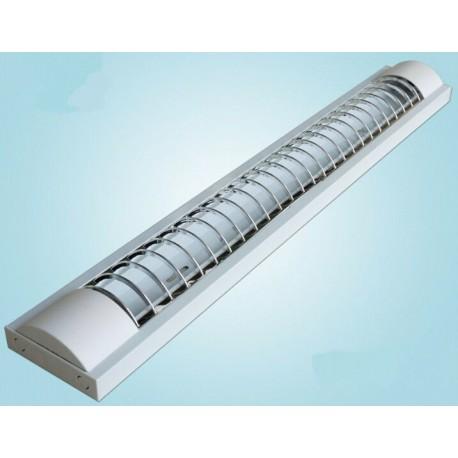 LED TL armatuur softline grill 120cm - 2 buis - OLV Openbare Led ...