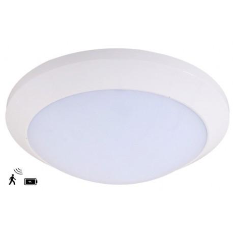 LED plafonniere met bewegingsmelder - type 2040-D met accu