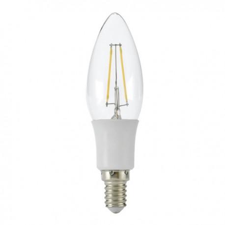 LED peer filament 2W - dimbaar E14 - OLV Openbare Led Verlichting