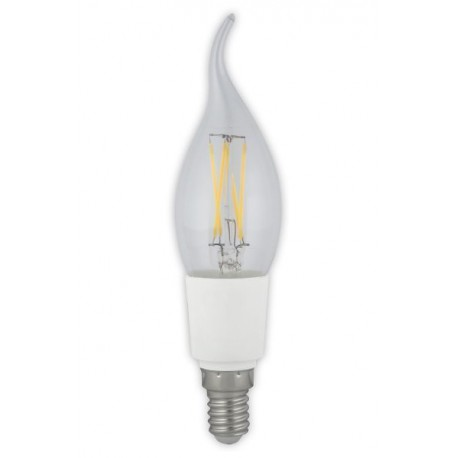 LED kaars filament 2W - dimbaar E27